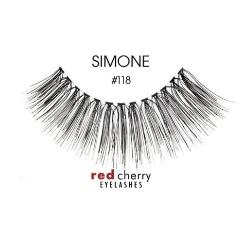 Red Cherry Lashes Style #118 (Simone) 01